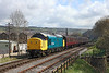 37264 seen leaving Keighley with the 10.30hrs Keighley - Oxenhope <br /> 26/04/2013