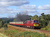 D1062 'Western Courier' is seen approaching Bewdley Tunnel as the driver opens the throttle to give the photographers a bit of Clag, fantastic!!!<br /> 6/10/2012