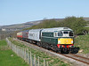 26010 passes Preston under scar with 2L02 the 10.35hrs Redmire to Leeming Bar 		<br /> 08/04/2011