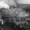 Brit 70041 Sir John Moore awaiting her Scottish bound train at Carlisle on 30/07/66