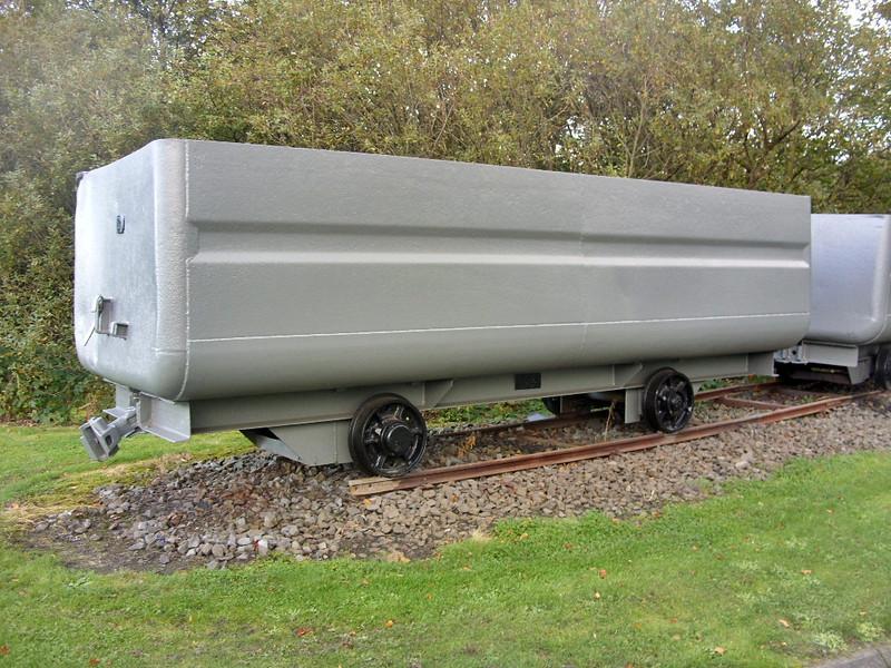 8 Long Steel Mining Tub NG - Prestongrange Mining Museum