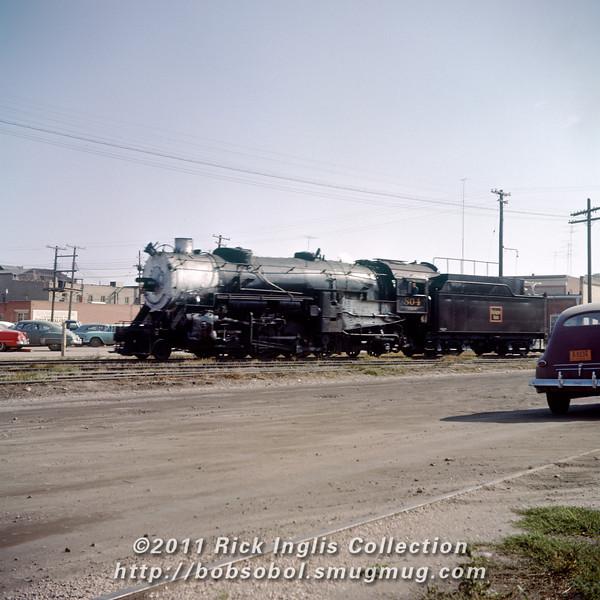 Slide No. 358. C&S 804 running light. Fort Collins?