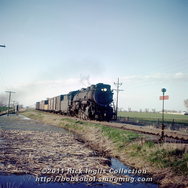 Slide No 228 South of Ft. Collins May 1957