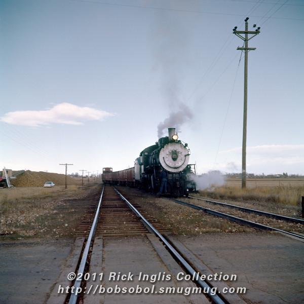 Slide No. 386. C&S 632 (actually 634) at Berthoud.
