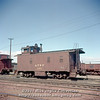 Slide No 223. ATSF caboose 2166.