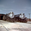 Slide No. 354. C&S 647 and 644 simmer outside the Fort Collins engine terminal. About October 1, 1958.