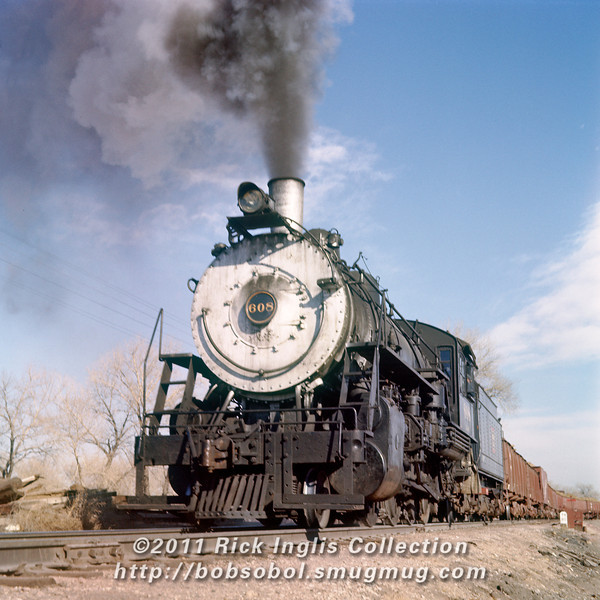 Slide No. 747. C&S 608 at MP 74.80 on the Front Range sub.