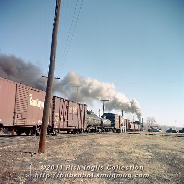 Slide No. 204. 904 arriving at Fort Collins, March 1957.