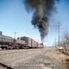 Slide No. 195. C&S 904 leaving Loveland, March 1957.