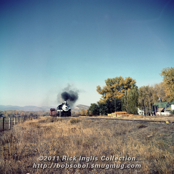 Slide No. 371. C&S 647 at Laporte CO, Oct 1958.