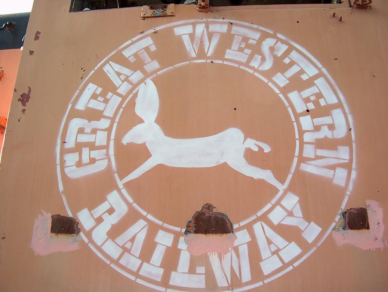 Great Western S4 in Loveland CO yard, 2002.