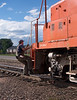 Switching at North Yard, Fort Collins, Sept 27 2004.