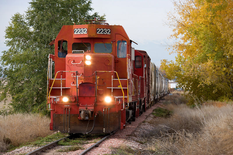 Fall color on the Great Western, Kelim CO.
