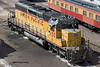 R/C SD40-2 in Cheyenne yard, Sept. 2005.