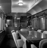 Interior of Omnitrax business car, formerly known as the Yellowstone when it ran on the Northern Pacific. I think they said it was used by a US President for waystops (but can't remember the details.)