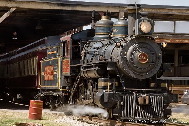 GVRR, Stockyards, Train Robbery 07-12-08