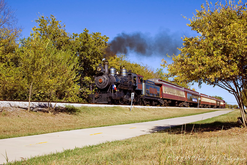 Grapevine Vintage RR Fall 11-08-08