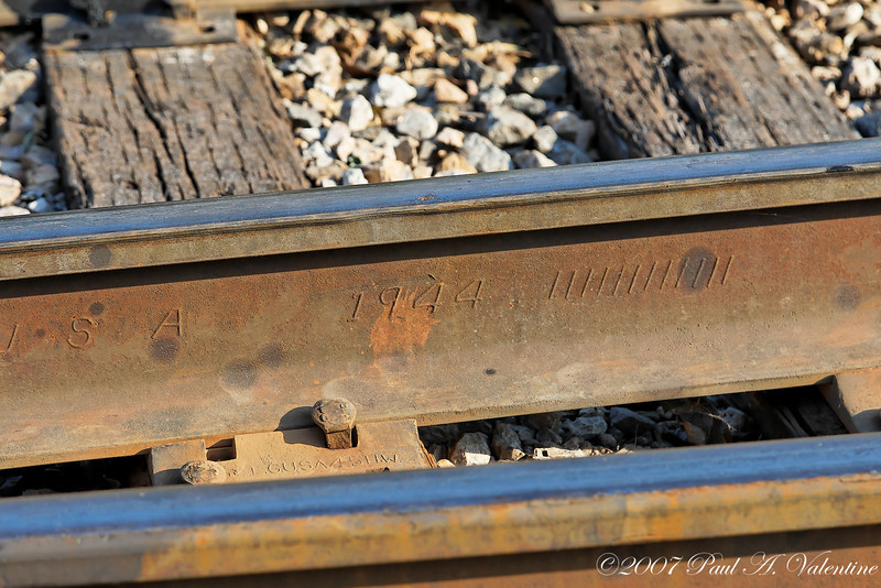 GVRR at the Stockyards Tall Trestle 11-17-07