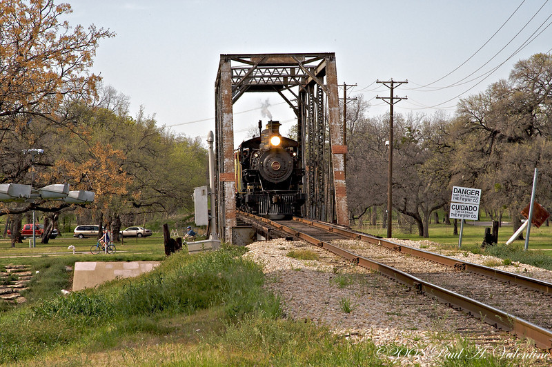 Grapevine Vintage Railroad Colleyville and Trinity Park 03-22-08