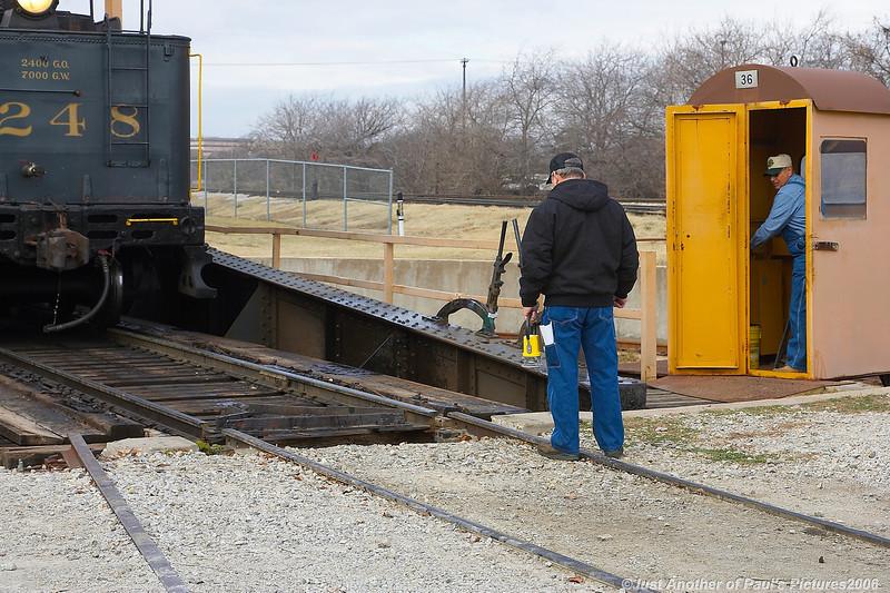 Grapevine Vintage RailRoad, 10 December 2006