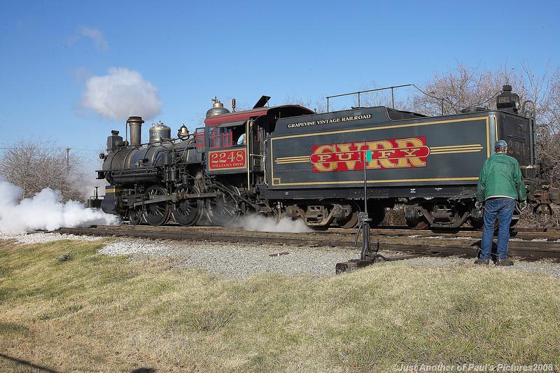 Grapevine Vintage RR, Northpole Express