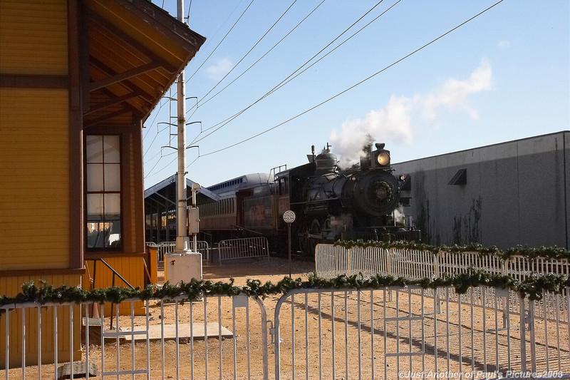 Grapevine Vintage RR, North Pole Express, December 3 2006