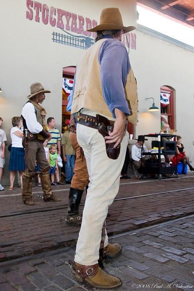 Stockyards Parade Cowboy Day 07-26-08