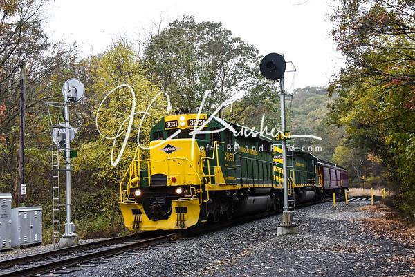 RBMN - Fall Foliage Passenger Service - 10/28/2018