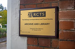 RCTS Archive & Library Plaque, Leatherhead, 6th October 2018