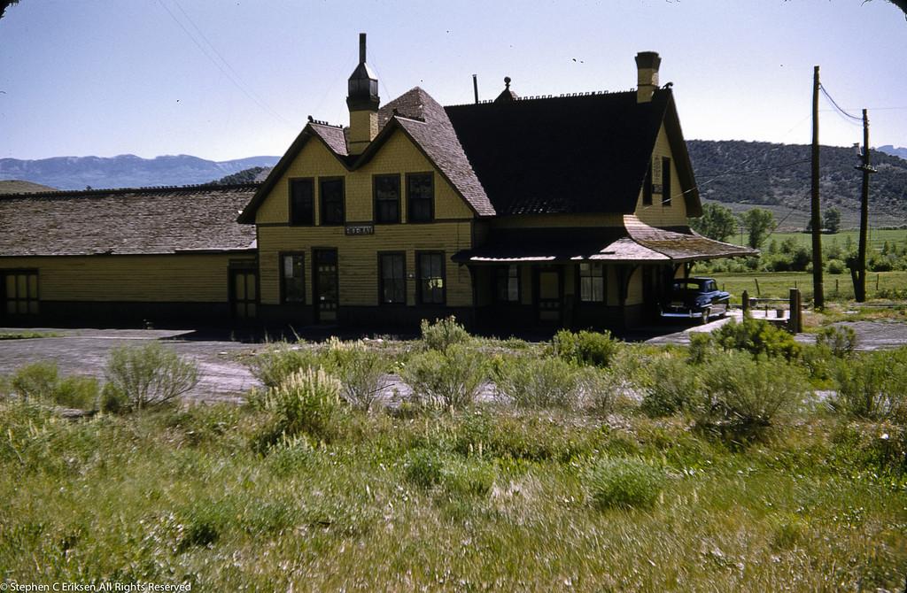 Ridgway depot 1953