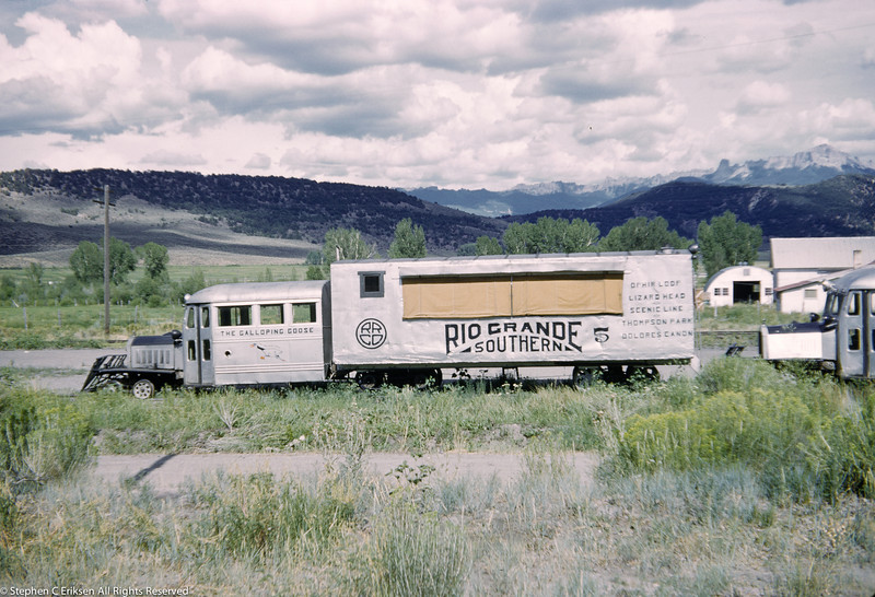 July 31, 1952 view of Goose #5 in Ridgway.