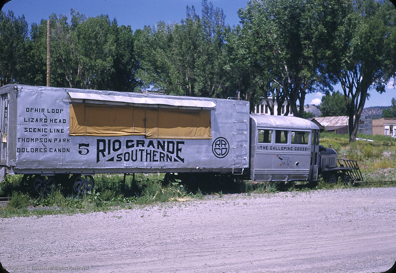 Goose 5 at Ridgway in 1950. Photo by William F. Hellgren.