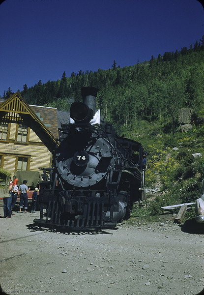 RGS #74 at Ophir in May 1950