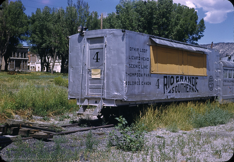 Goose 4 at Ridgway in 1950. Photo by William F. Hellgren.