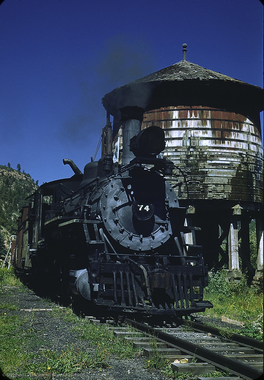 RGS #74 at Browns, CO in 1950