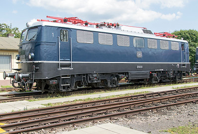 E10 121 Koblenz DB Museum. Tuesday 4th July 2017.