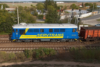 Side portrait of Servtrans 62-1310. Monday 23rd September 2013.