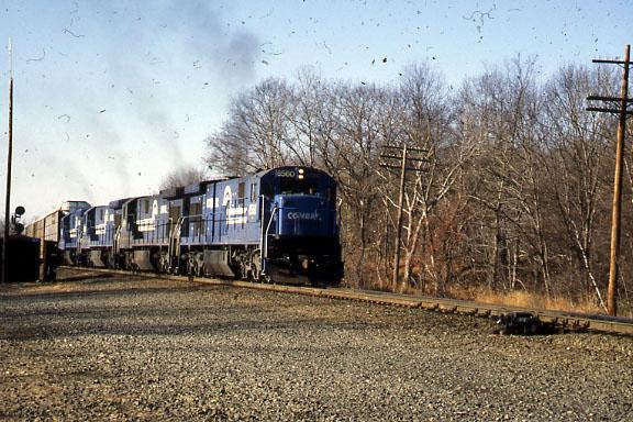Conrail Auto Rack Train