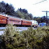 BAR Fan Trip in 1980 - Conway Scenic Coaches Trail BL2 Locomotive
