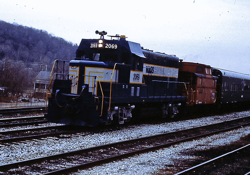 Massachusetts Central Engine Number 2069