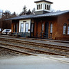 Amherst, Massachusetts - Former station of Central Vermont Railroad