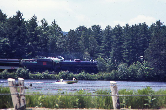 CN Engine 6060 on the Grand Trunk
