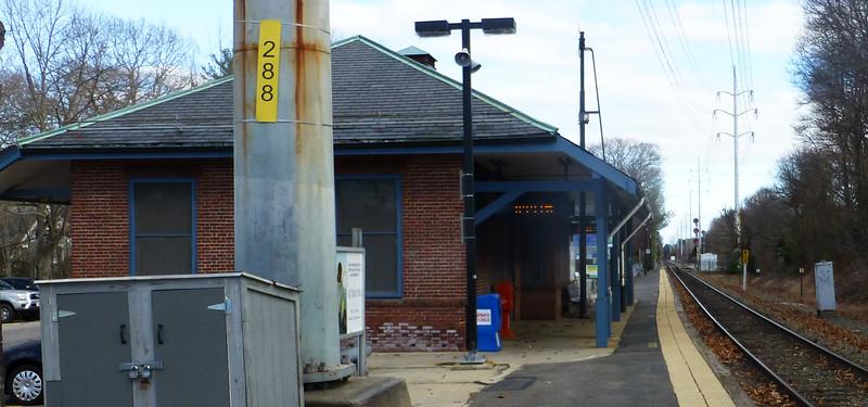 Needham Junction, Massachusetts - Former New Haven RR Depot