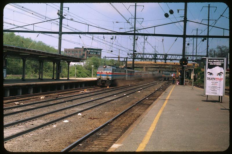 Amtrak Electric Engine on Northeast Corridor