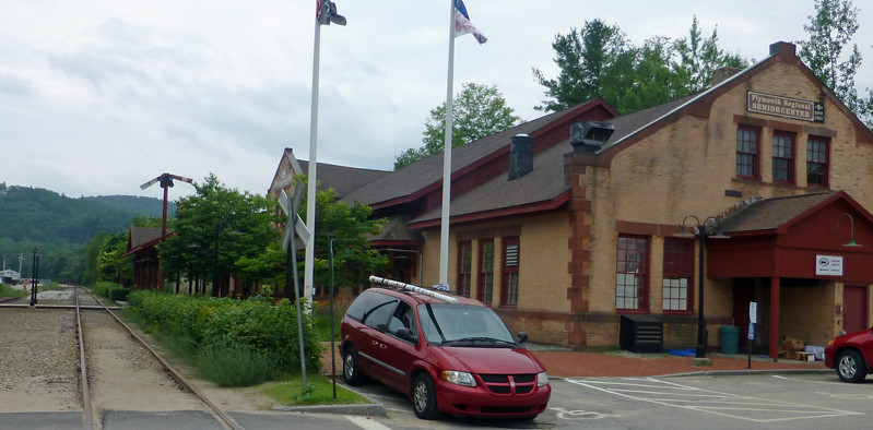 Plymouth NH Former Boston and Maine RR Depot