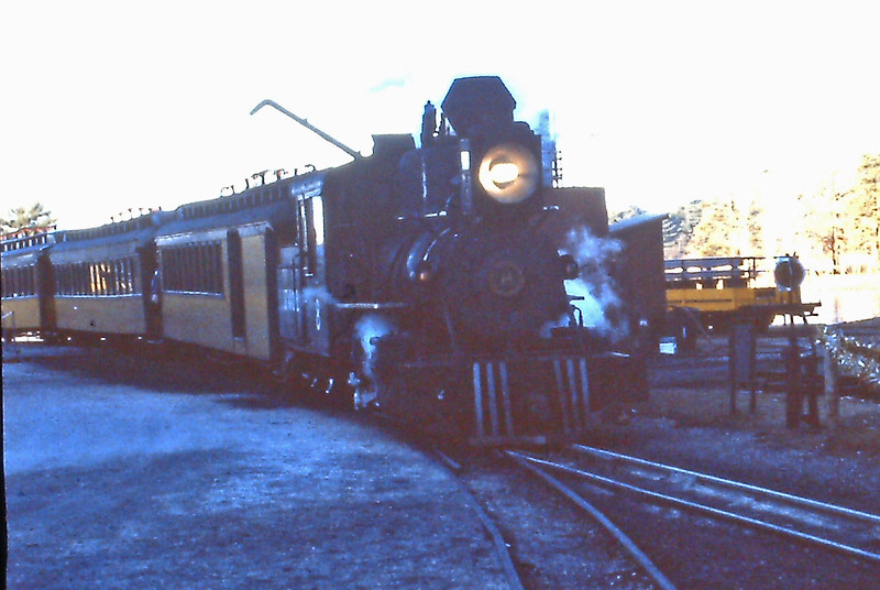 Edaville RR - Engine Number 8