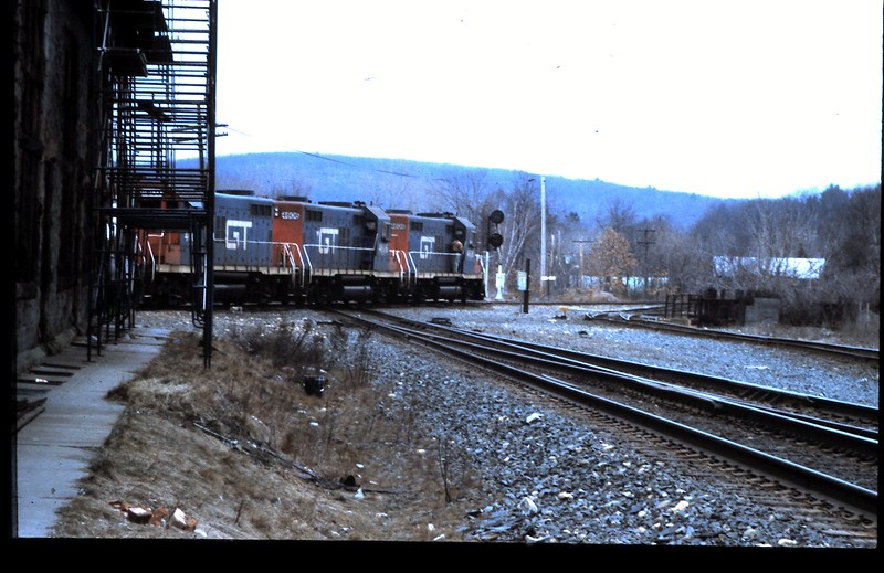 GT Engines on CV Crossing B&A Diamond in 1992