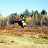 CSX power on the former Boston and Albany RR during fall foliage season. Date not recorded.