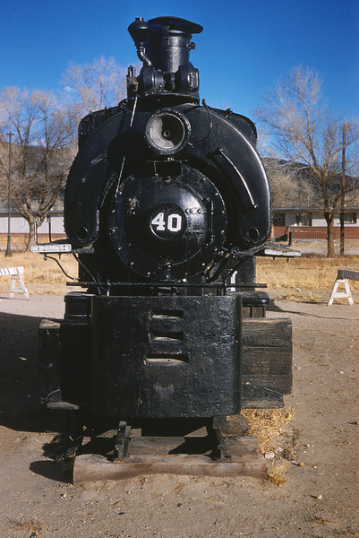MSCL 101 - Nov 9 1958 - 2 foot gauge 0 4 0 T ex-Koppers Co at Salida COLO