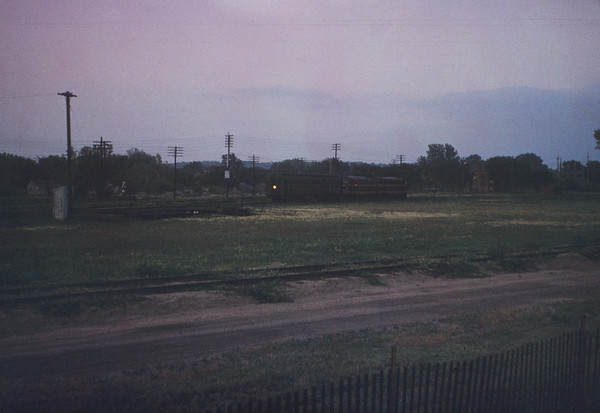 MSCL 60 - June 17 1956 - Milwaukee Road Engines at Council Bluffs IOWA